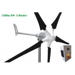 Windgenerator 1500w 24v +...